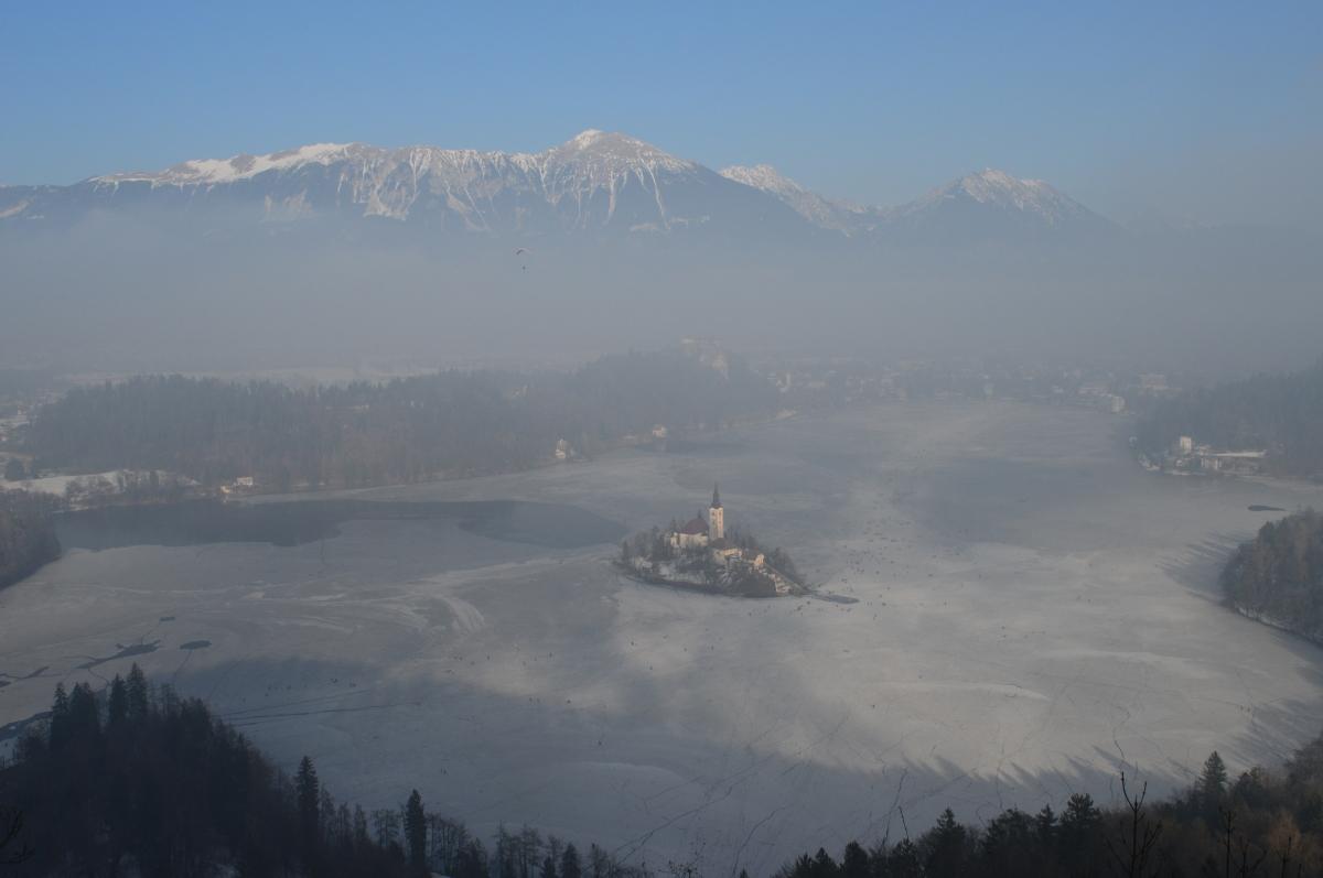 Un weekend nel regno di ghiaccio: Lago di Bled e Alta Carniola